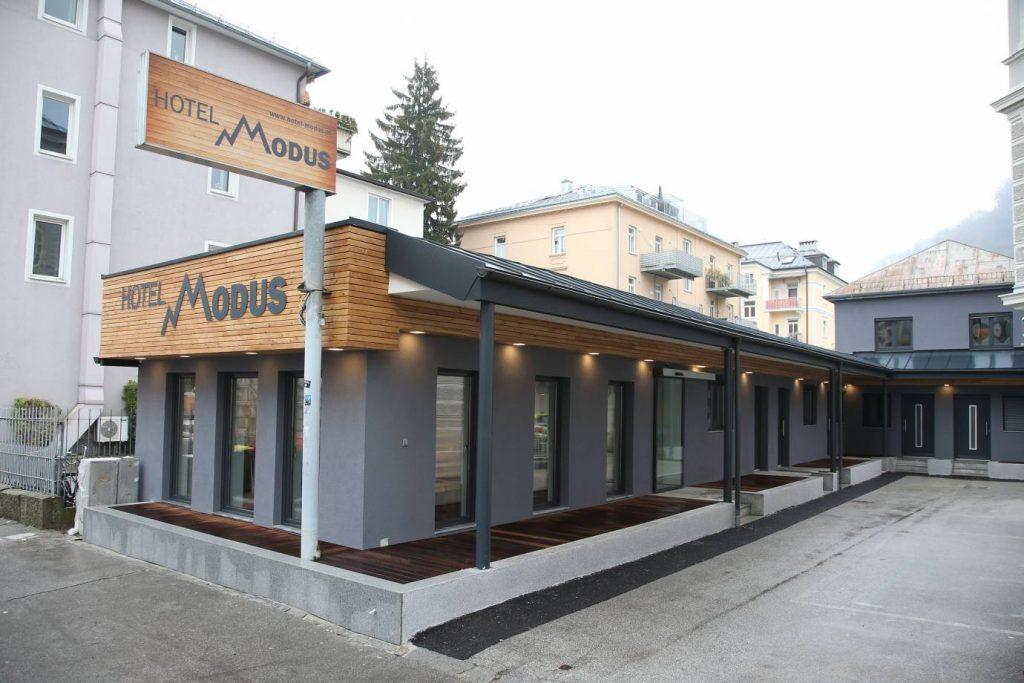 Hotel Modus Salzburg Empfang